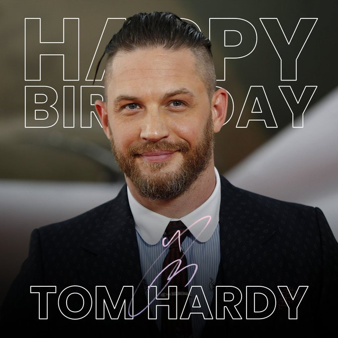 Happy Birthday Tom Hardy! Can\t wait to see him in