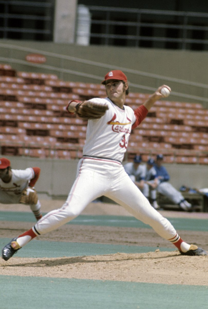 On this date in 1969, Steve Carlton set a new 9-inning single-game record with 19 strikeouts. Carlton and the Cardinals actually LOST the game, though, 4-3 to the Mets. No one would have more strikeouts in a 9-inning game until 1986, when Roger Clemens had 20.
