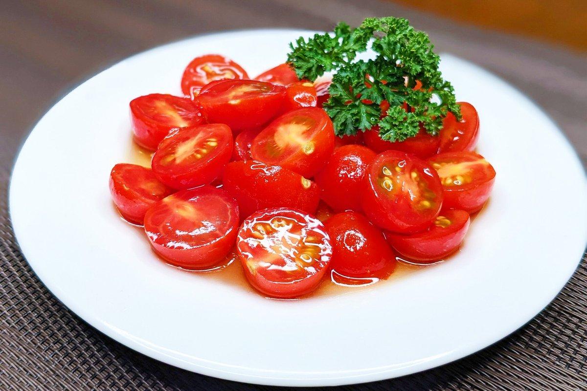 トマトをより美味しく⁉トマトの無限和風マリネ‼