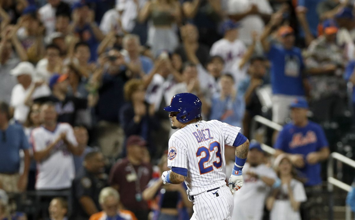 Javier Báez has hit 5 career game-tying or go-ahead home runs in the 9th inning or later. 3 of those 5 have come against the Cardinals. The Cardinals and Mets head to extras tied 4-4.