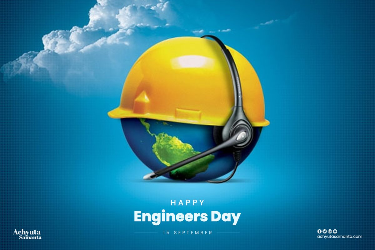 Engineering is one of the noblest professions, engineers leverage technology to change the world and build nations. It touches everyone's life every day. I wish everyone a very Happy Engineers day.  #EngineersDay  1/2 https://t.co/0AfLpax3BS