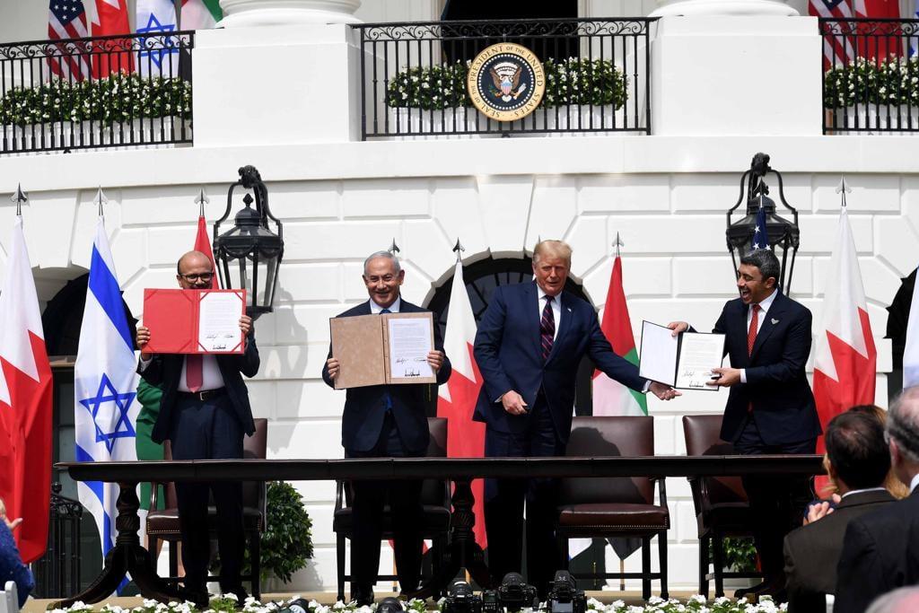 الذكرى الأولى لتوقيع الاتفاق الإبراهيمي للسلام بين إسرائيل والإمارات والبحرين.. إنه ليس سلاما بين…