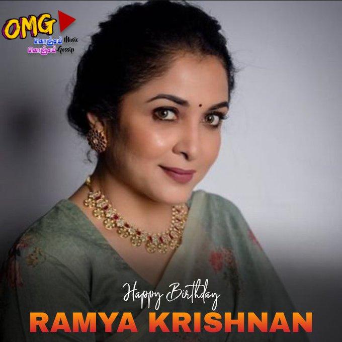 Happy Birthday Actress Ramya Krishnan!