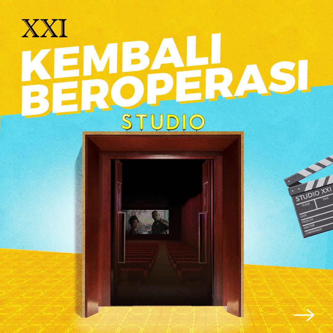 Bioskop XXI  @cinema21  #ASIKANkeBioskop #SelamatDatangSobatXXI https://t.co/SJS9onK7C4