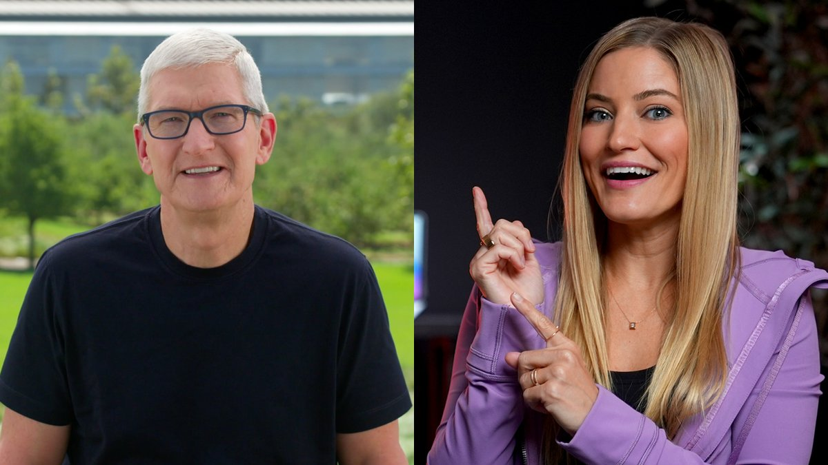 Had so much fun chatting with @Tim_Cook after the #AppleEvent! Check out the full video here: https://t.co/EhqejNO4N7 https://t.co/1kztTWzxDv