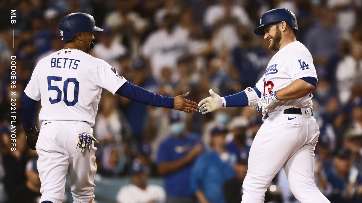 The reigning World Series champs are heading back to the playoffs. The Dodgers (93-53) become the second team this season to clinch a 2021 postseason berth.