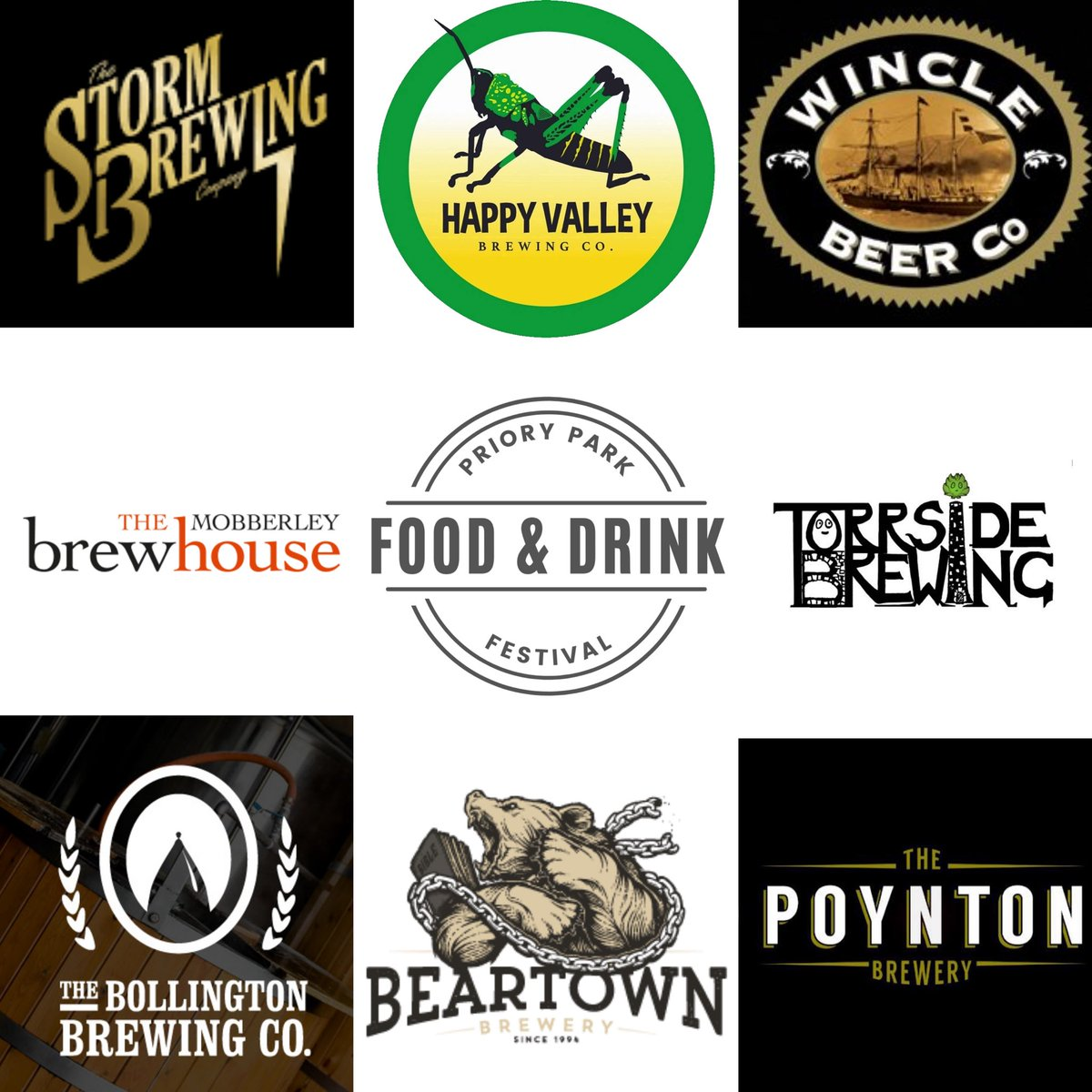 test Twitter Media - 🍺 Confirmed Breweries for the Priory Park Food & Drink Festival!  Friday 17th 6pm until late Saturday 18th 11am until late Support this great event and book your tickets 🎟  https://t.co/LBaZjDT40t More updates to come on the beers, Gins, wines, food & Bands, watch this space! https://t.co/YaTTXfMi22