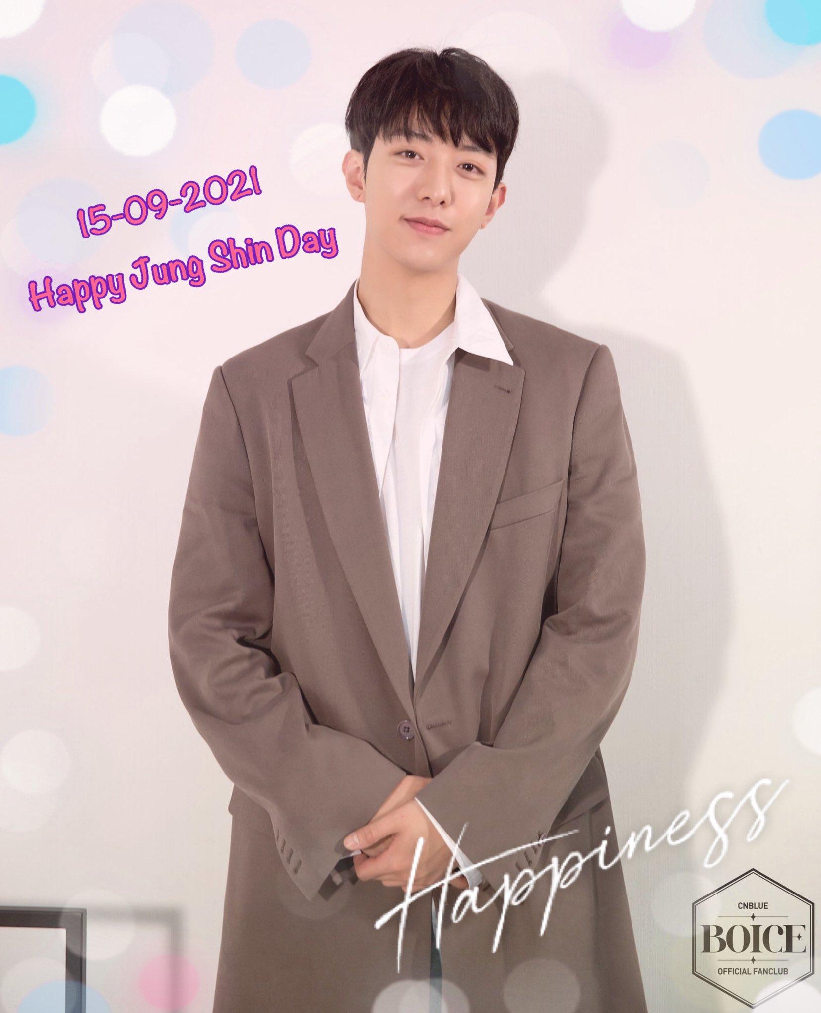 Happy birthday Lee Jung Shin 15-09-2021