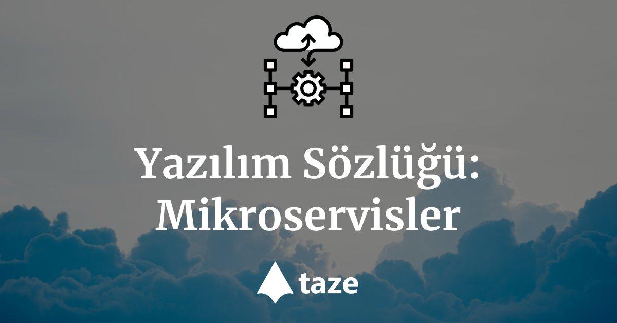 Yazılım Sözlüğü: Mikroservisler