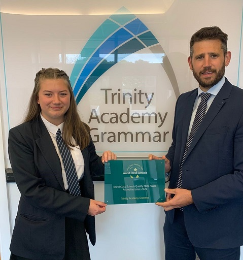 RT @TrinityAcademyG We are so proud to be one of just 12 secondary schools to be awarded World Class Schools status in 2021, and only the second school in Calderdale alongside @TrinityAcademyH to have achieved this quality mark. Well done to our students! https://t.co/0S8tjZYJbm @WCSQM  #WorldClass