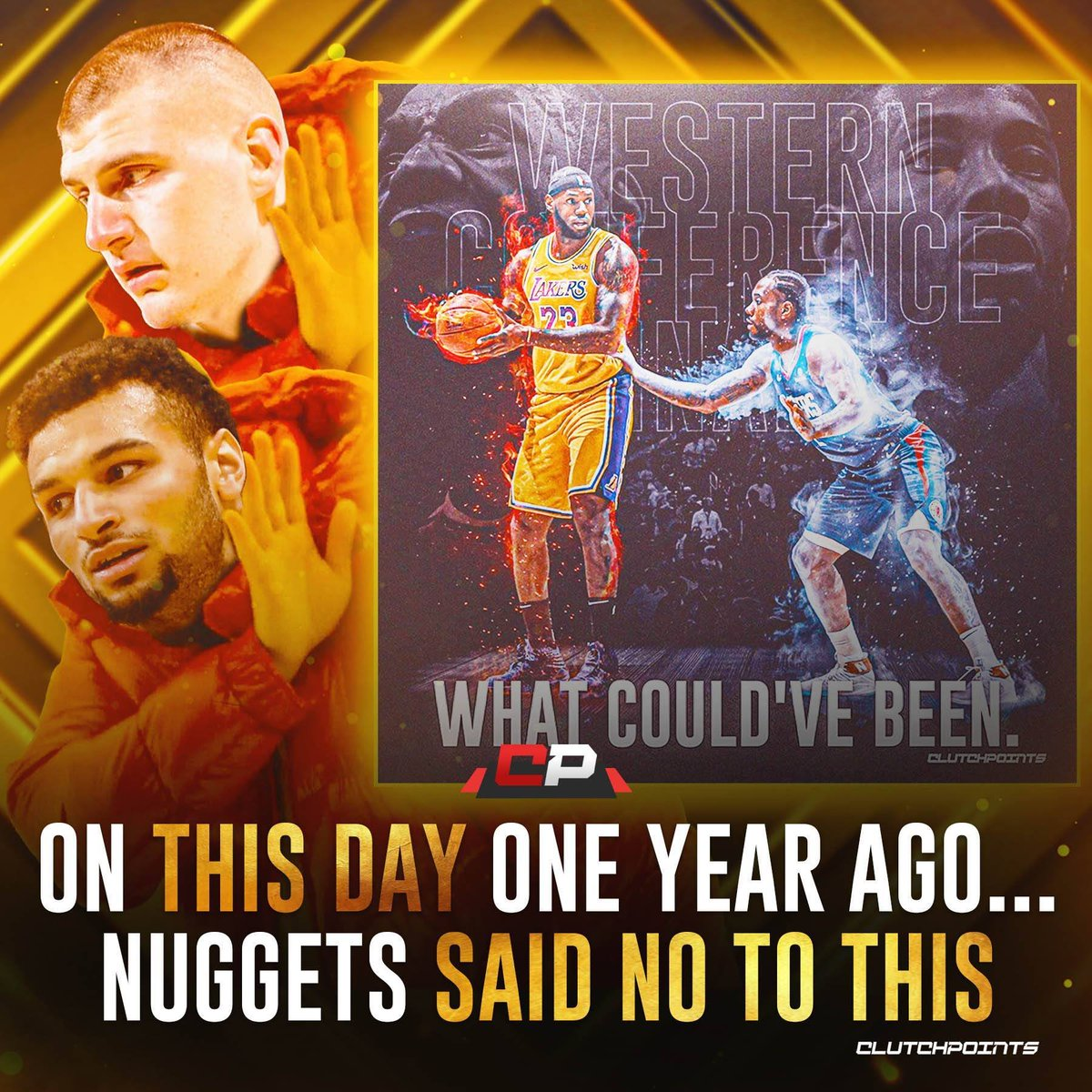 It's still hard to believe that the Nuggets came back from a 3-1 deficit not once, but TWICE in a single postseason 🔥 And everyone was hoping for that Lakers vs. Clippers Conference Finals 😅 Hands down a Top 3 team achievement in the NBA 👏