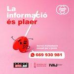 Image for the Tweet beginning: 🔊🍭La informació és un plaer📚  👉Consulta