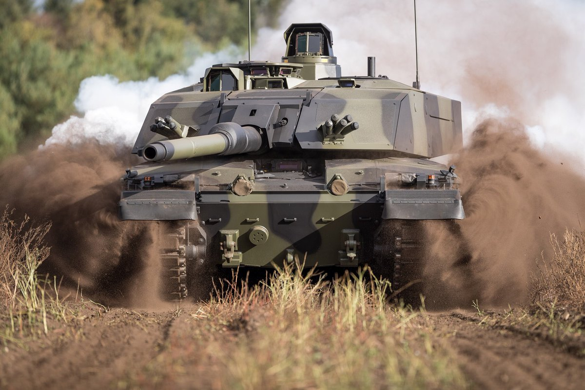 #Rheinmetall and #RBSL at #DSEI2021: Delivering the most capable tank in #NATO - #Challenger3 programme update   rheinmetall.com/en/media/edito…  #DSEI #Defence #Army #DSEI21