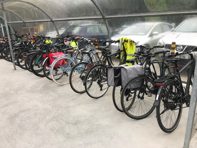test Twitter Media - Full bike racks here again this morning! #BikeWeek2021 @GreenSchoolsIre https://t.co/2WQiTu8Gq0