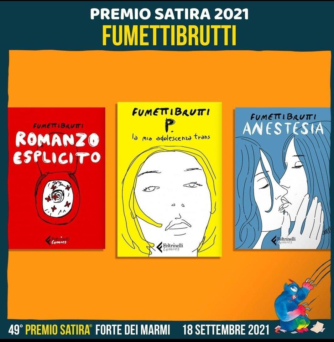 Complimenti a @josignorelli_ @FestivalSatira #FeltrinelliComics https://t.co/7ngRBKi73R