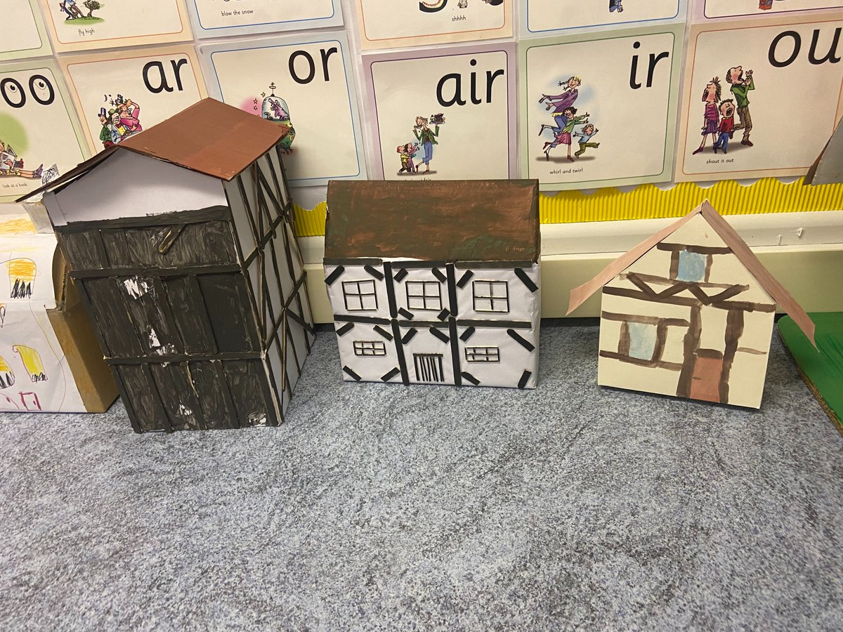 Take a look at these amazing Stuart houses Year 2 made at home! 🤩. Fantastic work Year 2!