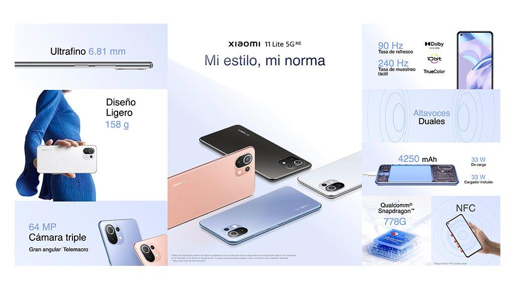 Xiaomi Mi 11 Lite 5G New Edition