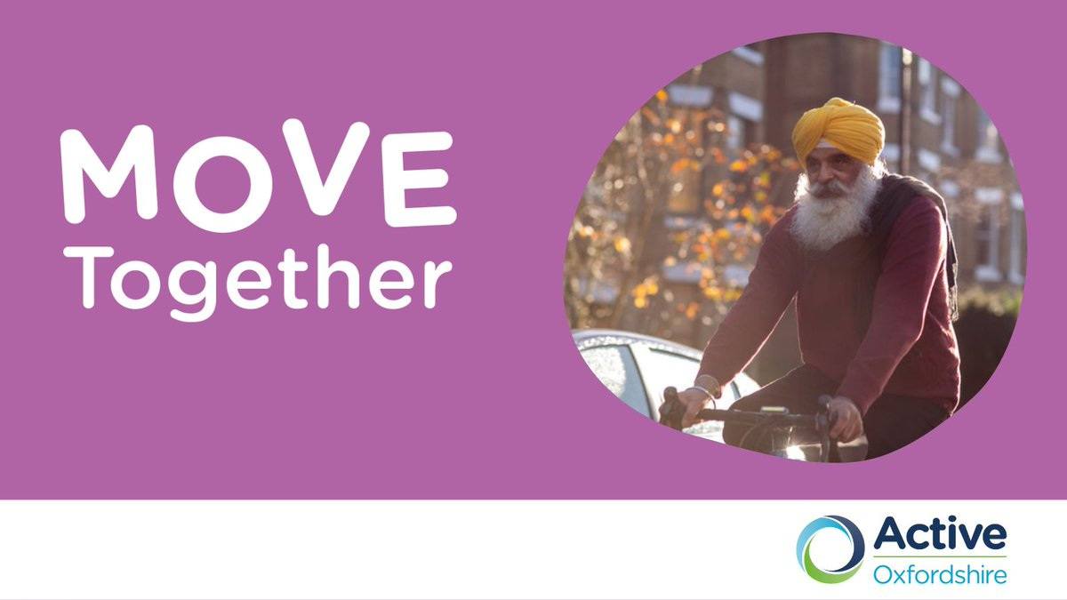 Do you work with vulnerable #Oxfordshire residents who have been affected by COVID-19? #MoveTogether is here to help people hit hardest by COVID to move more and protect their health and wellbeing. Find out more today: https://t.co/bAQyUEr56L