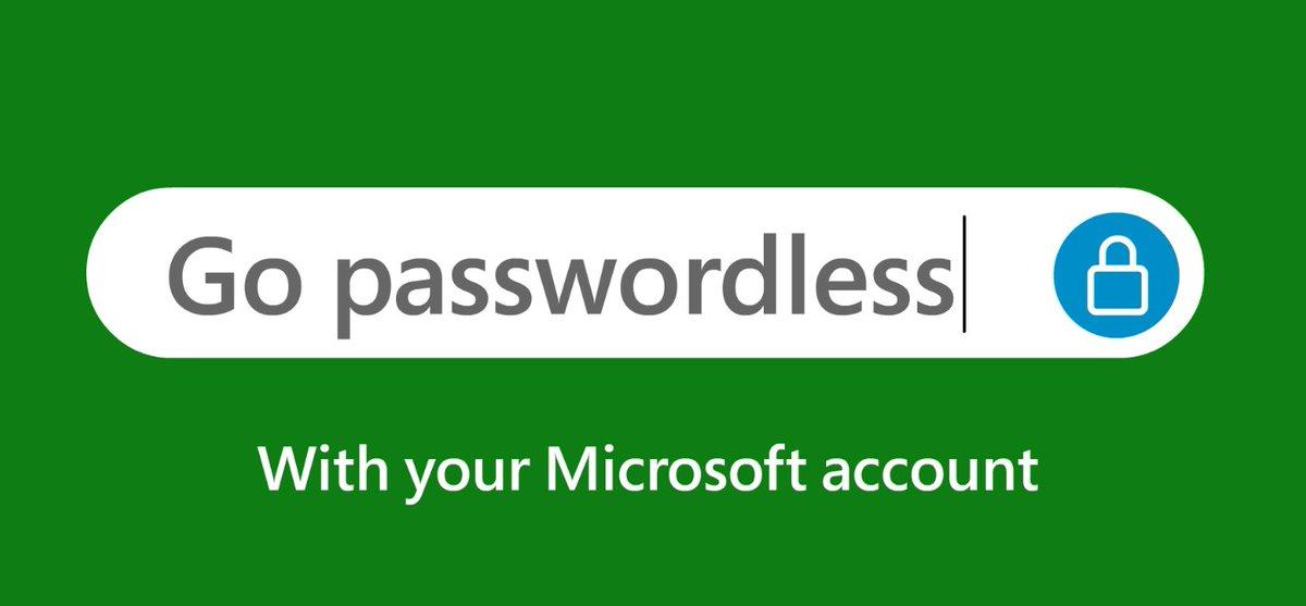 Microsoft accounts no longer need a password