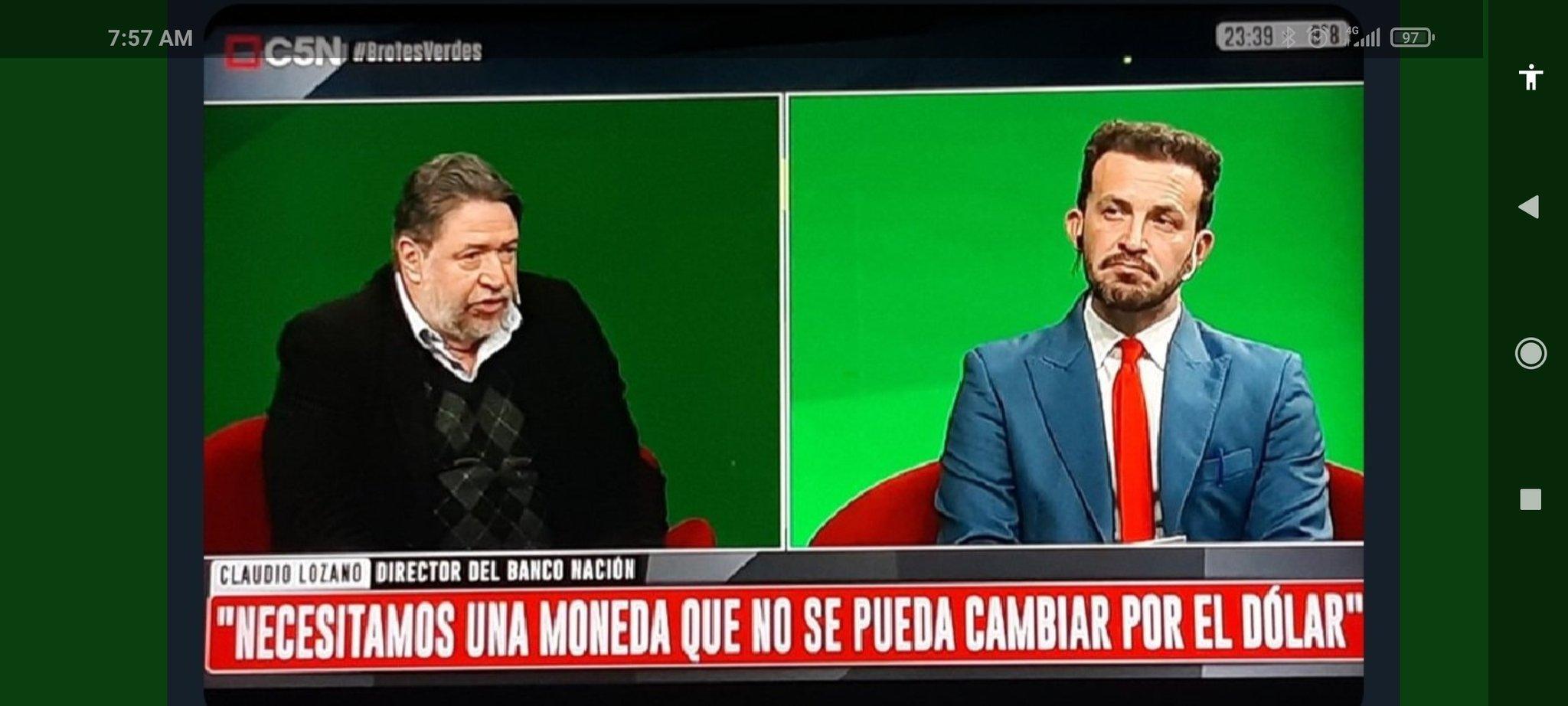 Director del Banco Nación Twitter