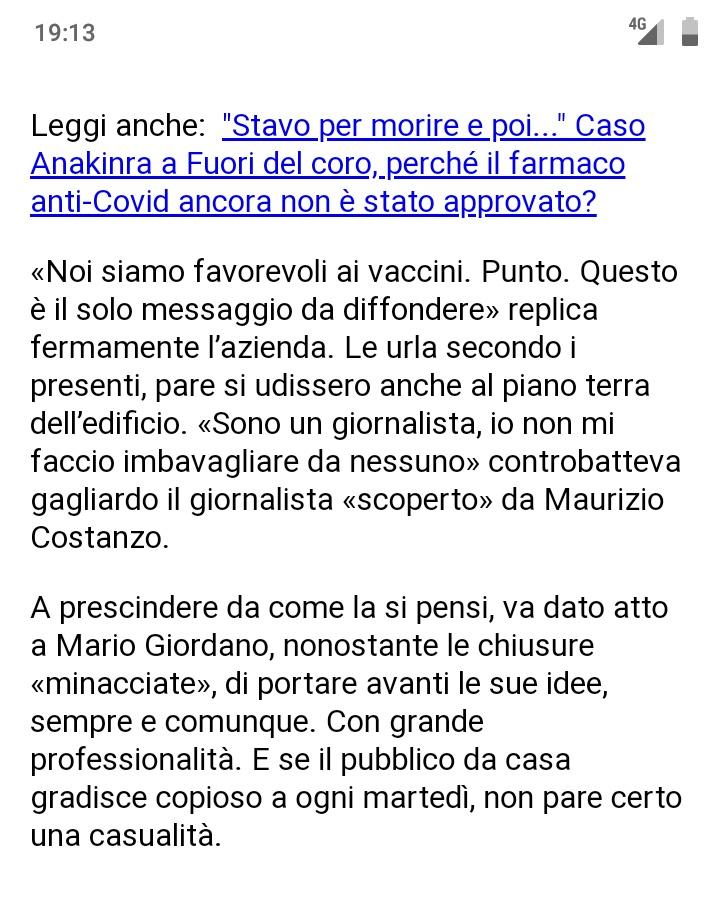 #MarioGiordano Twitter