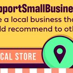 Image for the Tweet beginning: Share a small business to