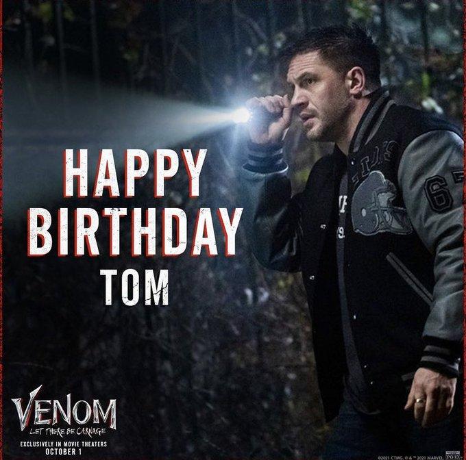 HAPPY BIRTHDAY TOM HARDY!