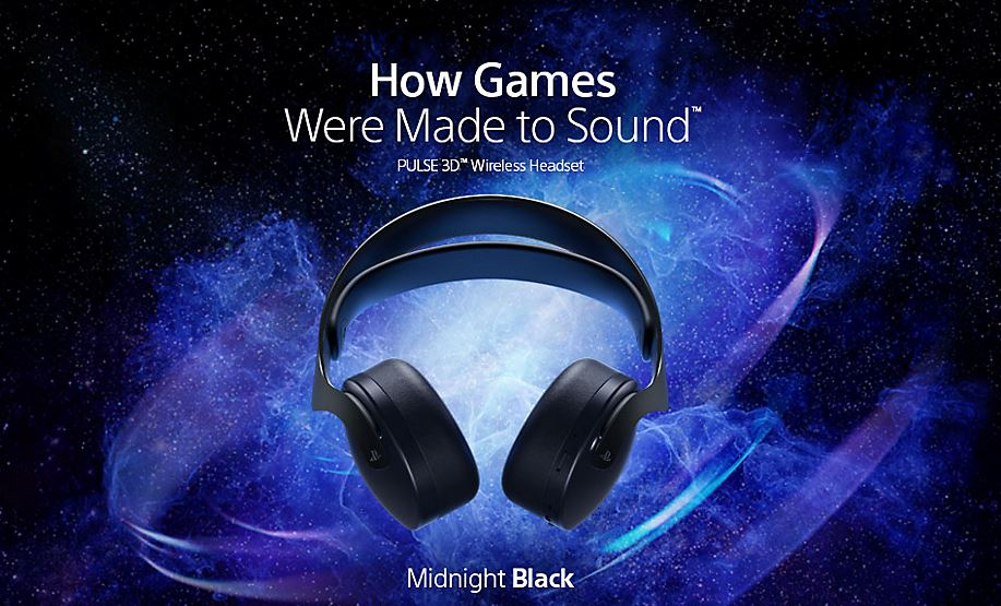 Pre-Order: PULSE 3D Midnight Black Wireless Headset $99.99 via PlayStation Direct. 2
