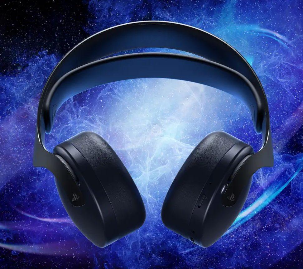 Sony Pulse Wireless Headset PS5 Midnight Black $99.99  PlayStation Direct 2