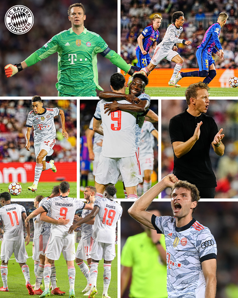 RT @FCBayernUS: Oh, what a night. 😍  #FCBFCB https://t.co/c7IZrSMcIU