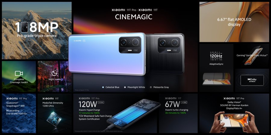 Xiaomi 11T Series