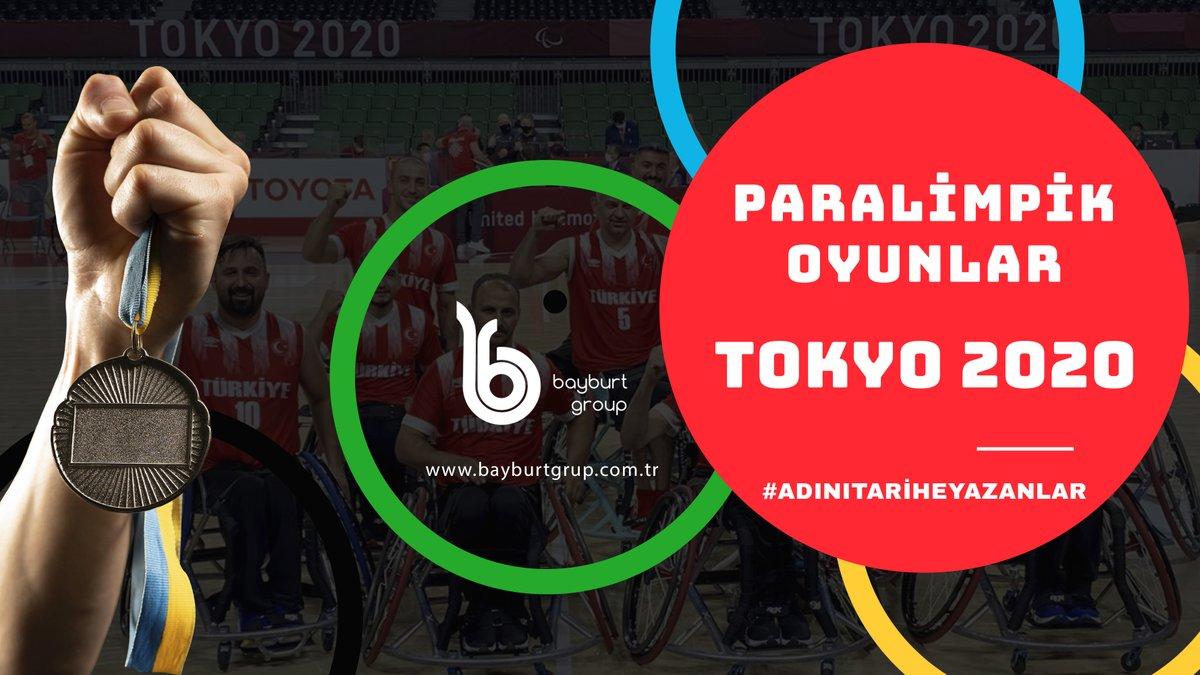 Tarihimizde bir ilk yaşatarak 2 altın, 4 gümüş ve 9 bronz toplam 15 madalya ile Tokyo 2020 Paralimpik Oyunları'nda göğsümüzü kabartan tüm sporcularımızla gurur duyuyoruz.  #Tokyo2020 #Olimpiyat #ParalimpikOyunları #Tokyo2020ParalimpikOyunları #AdınıTariheYazanlar #bayburtgrup