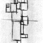 Study for Rhythm of a Russian Dance, 1918 #theovandoesburg #vandoesburg
