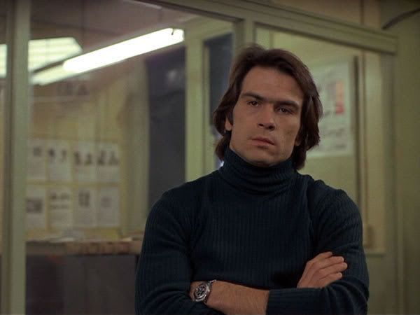 A very happy 75th birthday to Tommy Lee Jones. Photograph from Eyes of Laura Mars, 1978.