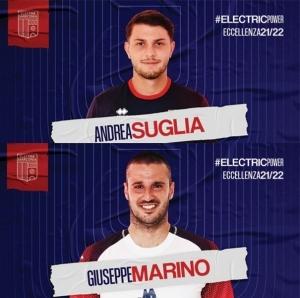 Marino e Suglia confermati nell'organico dell'...