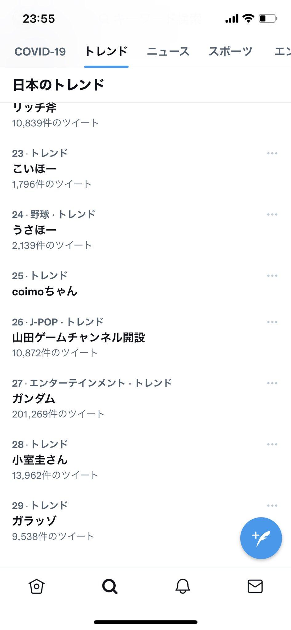 Coimoちゃん Twitter
