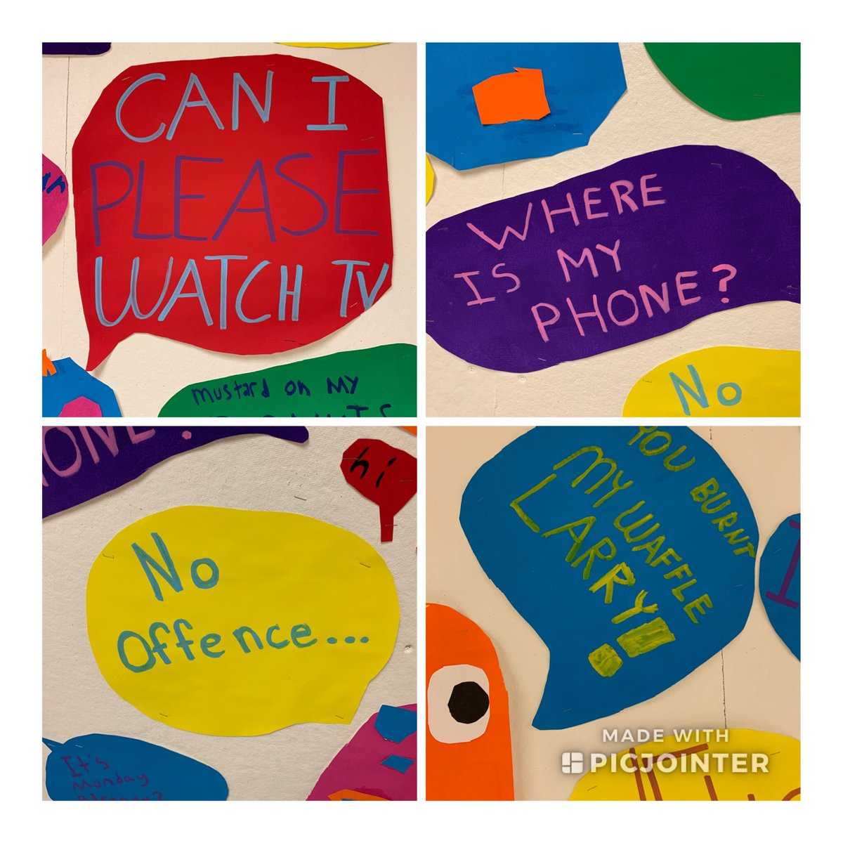 """More """"chatter"""" at Glebe <a target='_blank' href='http://twitter.com/glebepta'>@glebepta</a> <a target='_blank' href='http://twitter.com/APSArts'>@APSArts</a> <a target='_blank' href='http://twitter.com/APSVirginia'>@APSVirginia</a> <a target='_blank' href='http://twitter.com/GlebeVolunteers'>@GlebeVolunteers</a> <a target='_blank' href='http://search.twitter.com/search?q=GlebeEagles'><a target='_blank' href='https://twitter.com/hashtag/GlebeEagles?src=hash'>#GlebeEagles</a></a> <a target='_blank' href='https://t.co/5A5rLAV28q'>https://t.co/5A5rLAV28q</a>"""