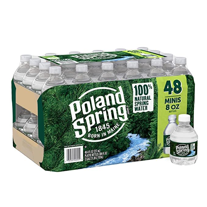 Poland Spring Water, 8 Fl Oz (Pack of 48)  Only $6.47!!!