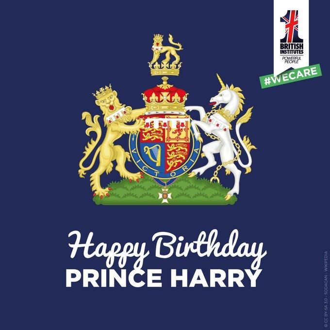 Happy Birthday Prince Harry   !