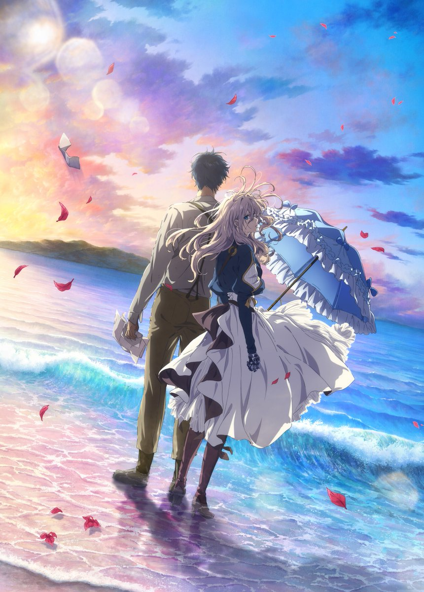 'Violet Evergarden the Movie' release date announced for October 13 on Netflix!