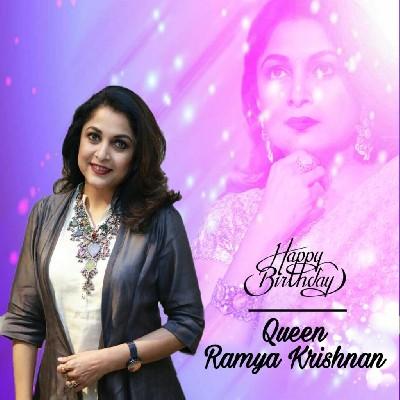 Wishing You A very Happy Birthday Ramya Krishnan  