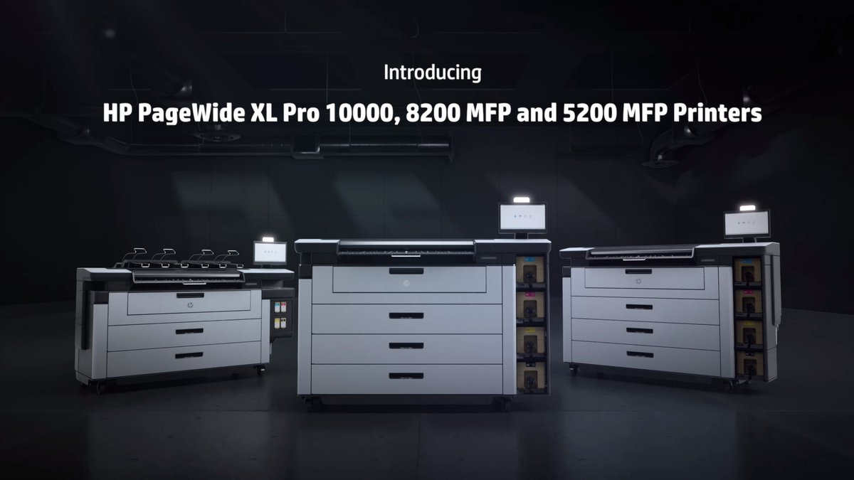 Image for the Tweet beginning: Introducing the new #HPPageWide XL