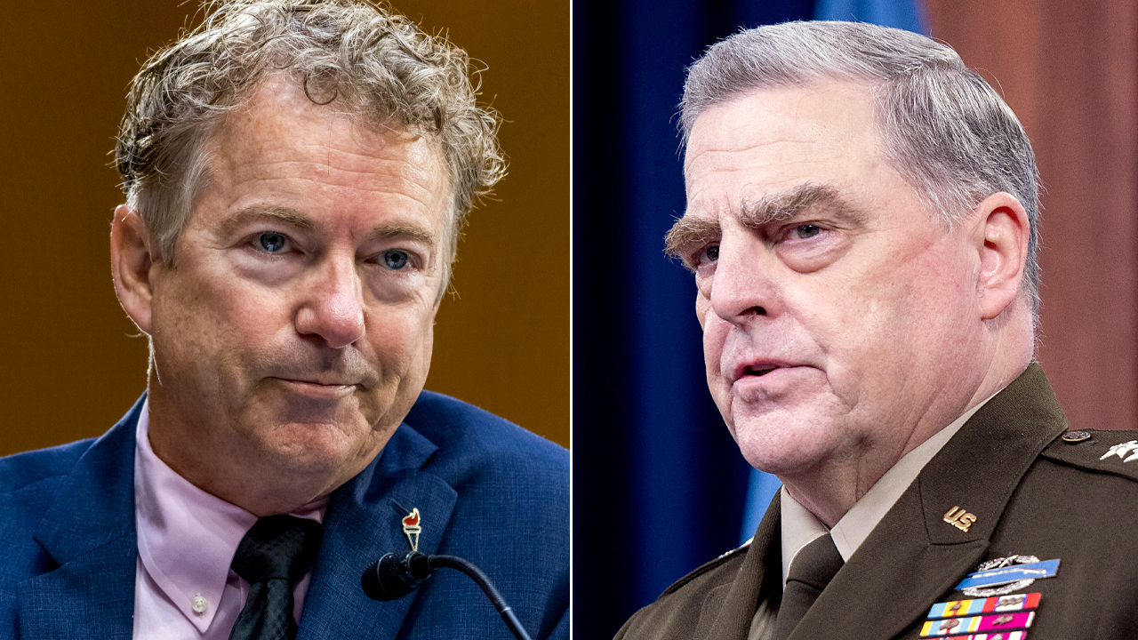 Rand Paul: Gen Milley should be removed, court-martialed if secret calls to China are confirmed