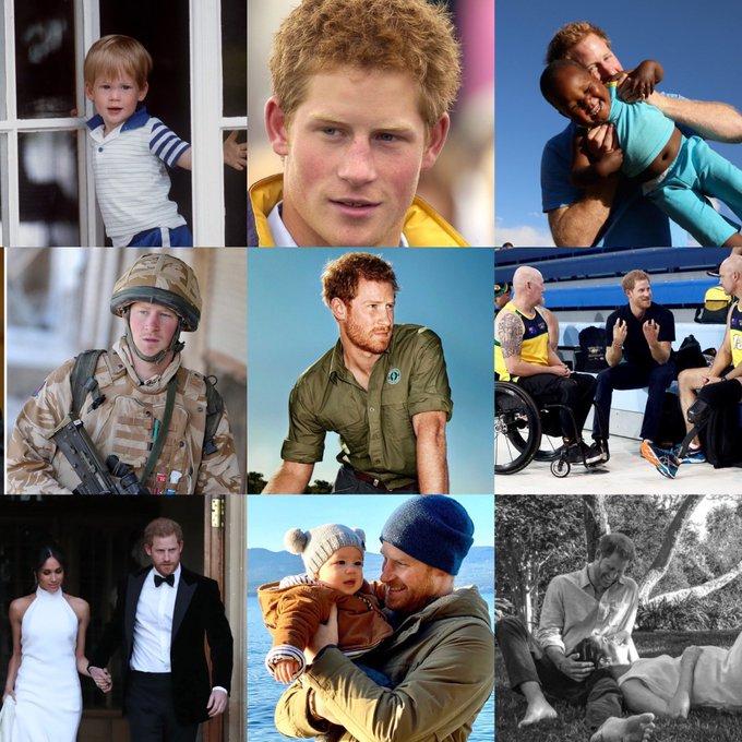 Happy Birthday Prince Prince Harry.