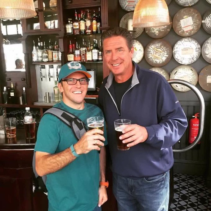 Happy birthday to my British pub drinking buddy, Dan Marino!