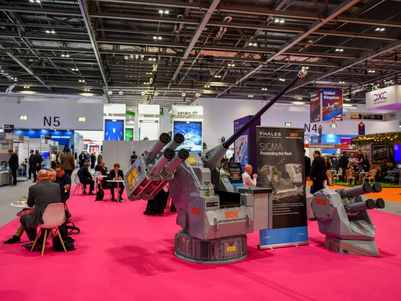 BREAKING: To protect visitors to our display at #DSEI from protestors we have installed automated ED-209 machine gun turrets in all the rest areas. The ED-209 can detect somebody who hasn't used soap from over a mile away and can fire 80085 rounds per minute!