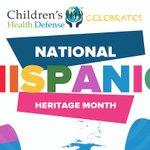 Image for the Tweet beginning: Starting today, CHD celebrates Hispanic