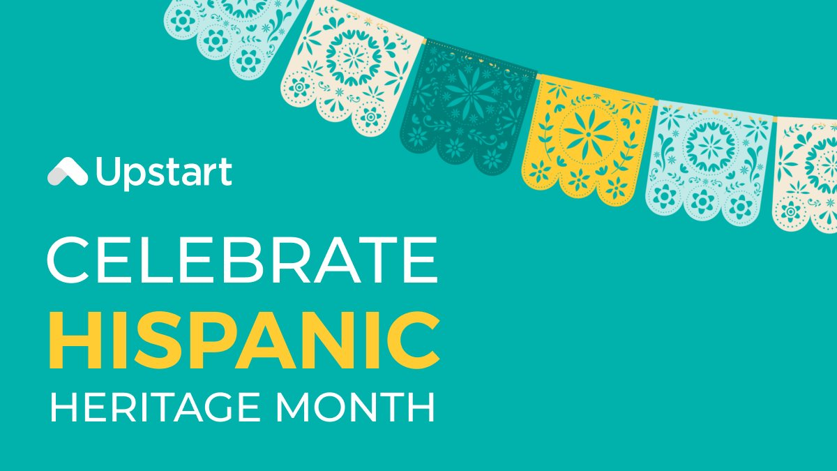 test Twitter Media - Hispanic Heritage Month is September 15th through October 15th. From all of us here at Upstart, we wish you a meaningful and joyous celebration. 🎉  #TeamUpstart https://t.co/FkuAoP0fzB