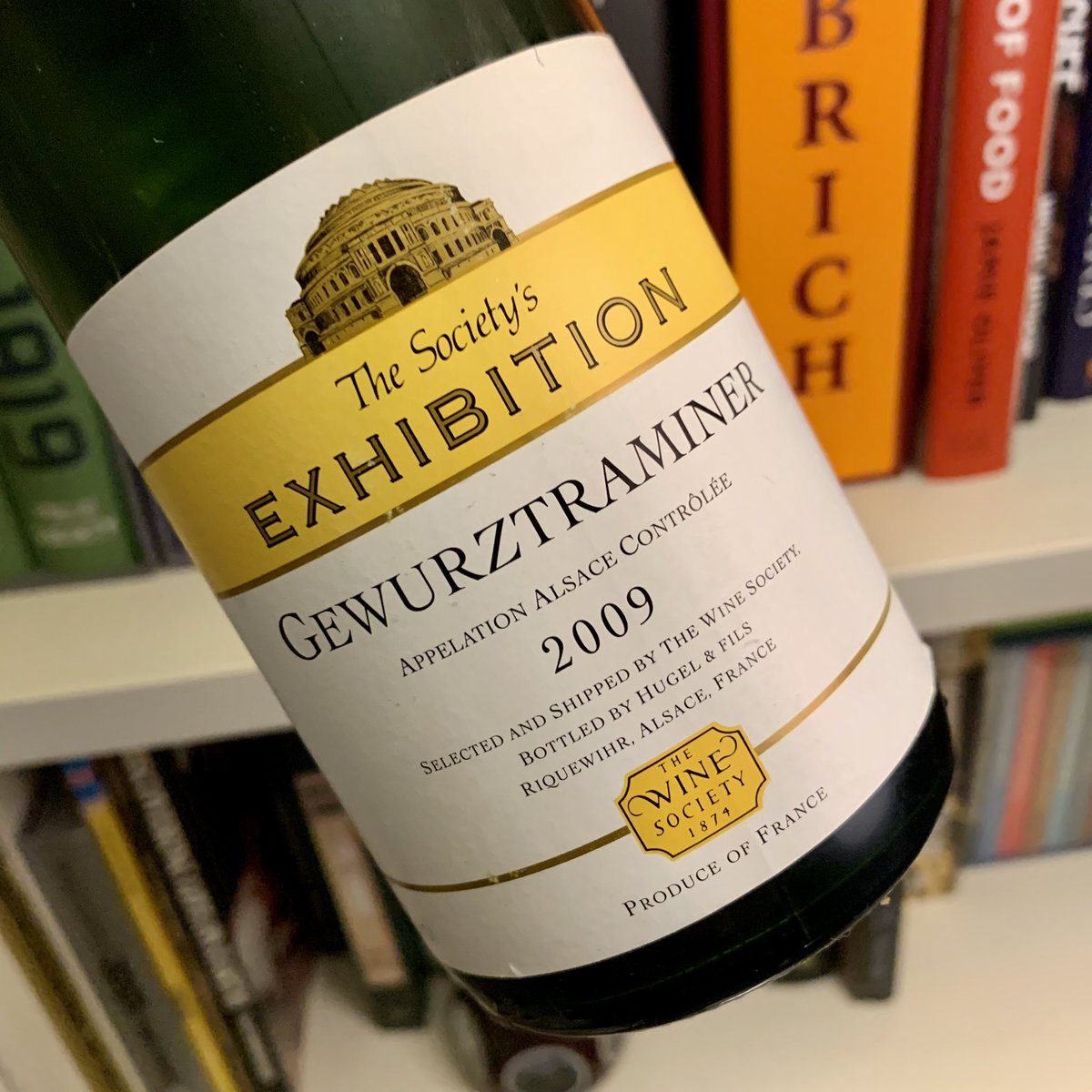 Sounds divine! We're now onto the 2017 vintage if anyone would like to stock up and see for yourself how this lovely Alsace gewurz ages:  https://t.co/wiRPpNj1wB