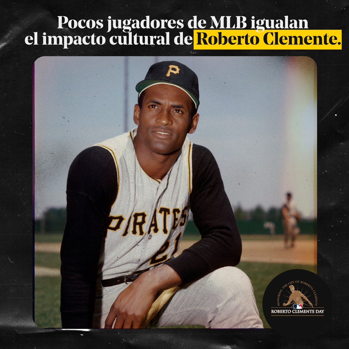 @MLBVenezuela's photo on Roberto Clemente
